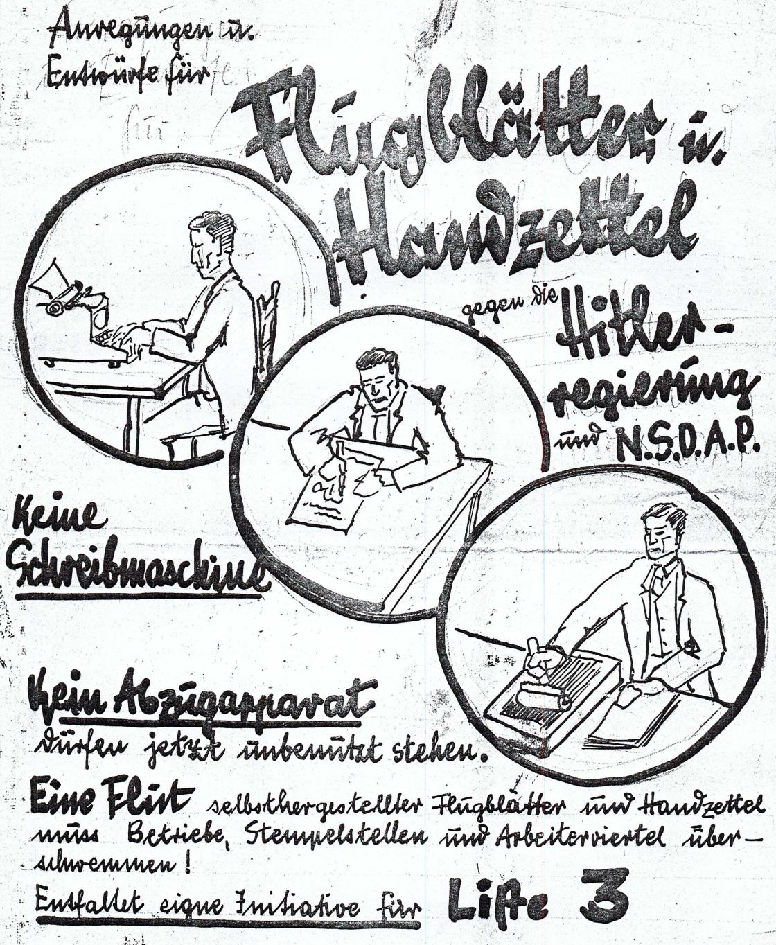 <a id='anker7' href='http://www.versteckte-geschichte-markkleeberg.de/quellenverzeichnis#widerstand-und-hilfe7' target='_new'>Abb. 1: Materialien zur Agitation <br /> und Propaganda der KPD</a>